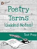 Poetry Terms Guided Notes