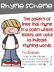 Poetry Terms Posters with a Colorful Kids Theme