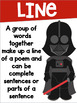 Poetry Terms Posters with a Star Wars Theme