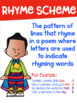Poetry Terms Posters with a Superhero Theme
