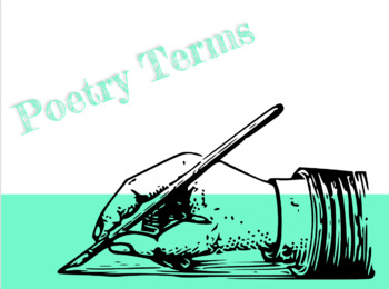 Poetry Terms PowerPoint