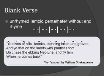 Poetry Terms, Types and Examples