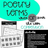 Poetry Terms: Write-the-Room or Scan-the Room