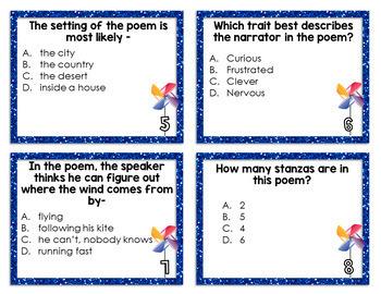Poetry Test Prep Task Cards