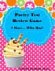 Poetry Test: Summative Assessment for Poetry and Figurativ