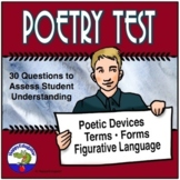 Poetry Test Digital and Print Distance Learning