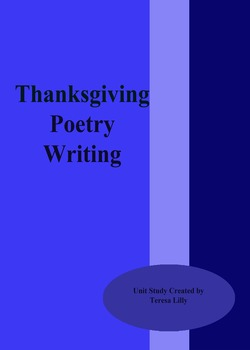 Poetry: Thanksgiving Poetry Writing