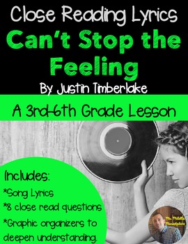 "Poetry They Will LOVE: ""Can't Stop the Feeling,"" by Justin"