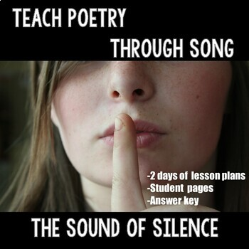 Poetry Through Song  (Sound of Silence)