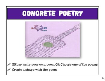 Poetry Tic Tac Toe Stations