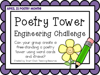 Poetry Tower: Engineering Challenge Project ~ Great STEM A