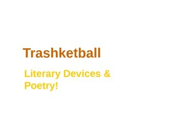Poetry Trashketball