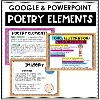 analyzing the elements of poetry essay A poetry analysis essay demands a thorough examination of all of the elements utilized when once you identify the technical elements of a piece of poetry.