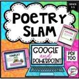 Poetry Unit with Types of Poems, Poetry Elements, and Poet