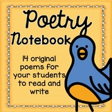 Poetry Unit- 14 Poems for your Students to Read and Write
