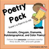 Poetry Template 5-Pack