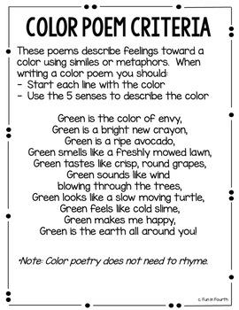 Poetry Unit: Lesson Plans for Haiku, Cinquain, Diamante and More