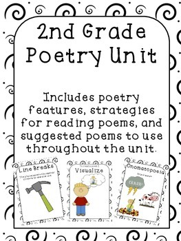 Poetry Unit 2nd Grade by Teacher - Techie - Mostly Tired | TpT