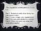 Cinquain Poetry PPT Lesson