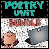 Poetry Unit Bundle with Powerpoint & Activities