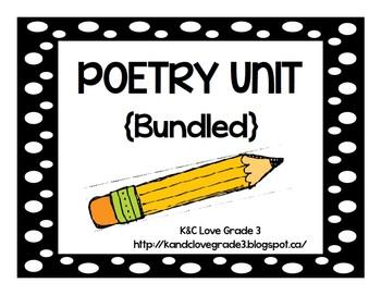 Poetry Unit {Bundled}