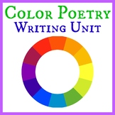Poetry Unit: Color Poem (3 to 4 Days)