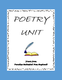 Poetry Unit Gr. 9-12+