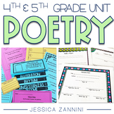 Poetry Unit - Grade 4 and Grade 5
