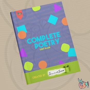 Poetry Unit Grades 7-8
