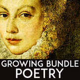 Poetry Unit High School: Poetry Activities, Poetry Writing, & Poetry Analysis