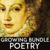 Poetry Unit High School: Poetry Activities, Poetry Writing