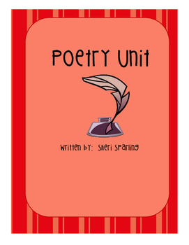 Poetry Unit - includes everything needed