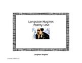 Poetry Unit: Langston Hughes