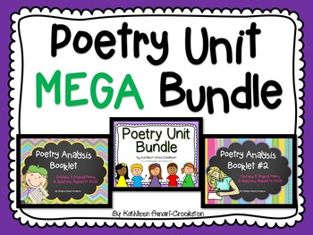 Poetry Unit MEGA Bundle