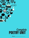 Poetry Unit - Middle or High School Complete Unit