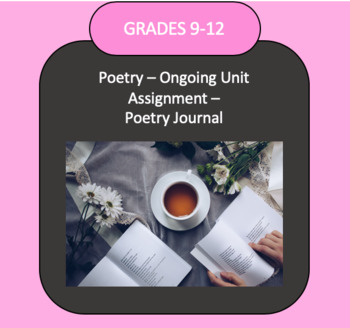Poetry Unit-Ongoing Assignment: Poetry Journal
