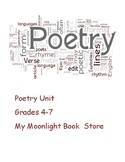 Poetry Unit Plan
