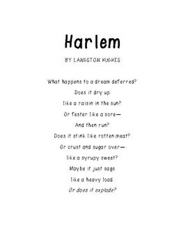 Poetry Unit: Poems to Analyze