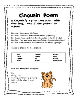 Poetry Unit- Poetry Journal and Templates