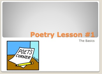 Poetry, Poetry , Poetry!!!!!