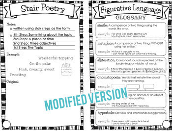 Poetry Unit  {Powerpoint, Student Booklet, Posters}