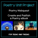 Poetry Unit Project for Teens and Tweens: Poetry Webquest,
