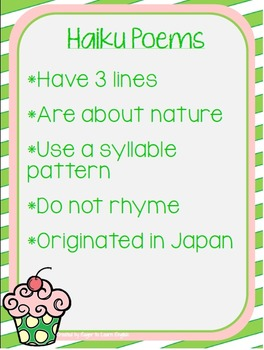 Pick-a-Pattern Poetry Unit - Planning pgs, Vocab Posters, Anchor Charts & More!