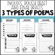Poetry Unit: Snowmen {Print and Go}