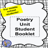 Poetry Unit Student Booklet - Middle School