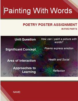 Poetry Unit Summative Assessment