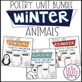 Winter Animals Poetry Bundle