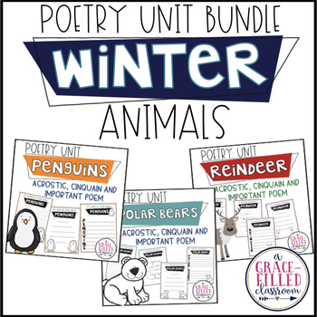 Poetry Unit: Winter Animals