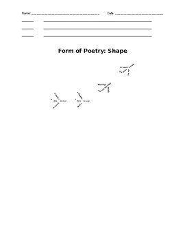 Poetry Unit Student Packet