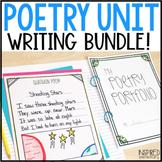 Poetry Unit   Poetry Writing Bundle